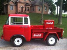 1957 Jeep FC-150 Coca Cola