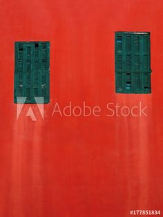 green windows on a red wall background Green Windows, 3d Assets, Red Walls, Adobe, Templates, Creative, Image, Stencils, Cob Loaf