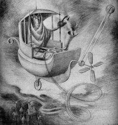 """Remedios Varo """"The sign of Cancer"""""""