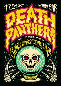 Death Panthers Poster on Behance