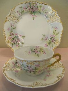 Beautiful porcelain china.