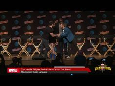 The Defenders Unite At NYCC 2016 - Video --> http://www.comics2film.com/the-defenders-unite-at-nycc-2016/  #Comic-Con