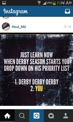 ♥ Derby Time, Demolition Derby, Priorities List, Derby Cars, Days Of Our Lives, Seasons, Sayings, Learning, Random