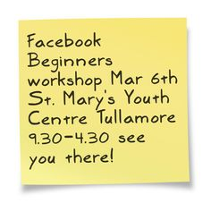 Great Facebook Beginners workshop focusing on business page set up, promotion & content creation!