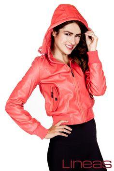 Chamarra, Modelo 19858. Precio $350 MXN #Lineas #outfit #moda #tendencias #2014 #ropa #prendas #estilo #primavera #outfit#chamarra