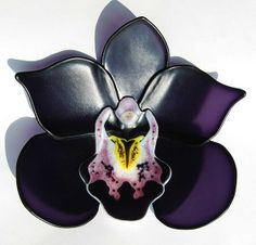 Glass Orchid - Cymbidium by Laura Heart