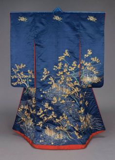 Edo era furisode- Museum of Fine Art, Boston