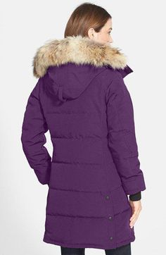 Canada Goose 'Citadel' Slim Fit Parka with Genuine Coyote Fur available at #Nordstrom