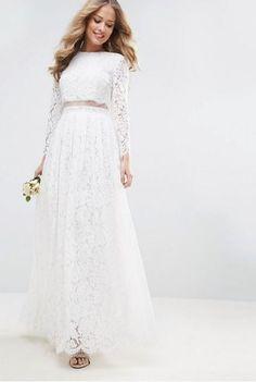 c) Asos - Asos Bridal Maxikleid