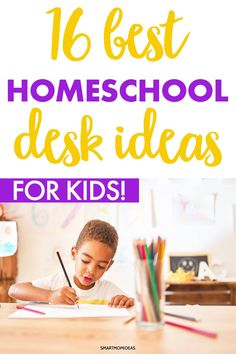Homeschooling this year? Here are the best homeschool desk ideas for large spaces and small spaces. See what I'm using for my twins' homeschool set up and get some home office desk ideas for homeschooling. #homeoffice #homeschool #homeschooldeskideas #homeschoolideas Gentle Parenting, Parenting Advice, Kids And Parenting, All Family, Family Life, Teaching Kids, Kids Learning, Learning Activities, Activities For Kids