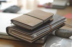 Baum-kuchen - Daniel's Traveler's Notebook [A companion and an organizer for creativ