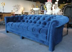 Beautiful Chesterfield sofa at One Man's Trash in Las Vegas