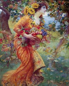 1,194 mentions J'aime, 3 commentaires - @dreamersofdecadence sur Instagram: «In the orchard - Franz Dvorak  @yasmineodalisque»