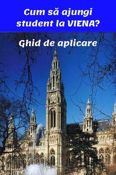 Dacă alegerea ta este o universitate în Viena, iată ghidul complet al procesului de aplicare Austria, Notre Dame, Student, Building, Travel, Vienna, Viajes, Buildings, Destinations