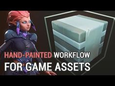 Handpainted Workflow For Game Assets - YouTube