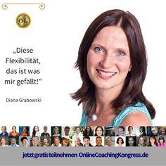 Diana Grabowski ist Gründerin der Ideenheldenbewegung. Wie sie es geschafft hat, Mensche bei der Verwirklichung ihrer Ideen zu unterstützen und dabei erfolgreich und erfüllt zu leben verrät sie Dir im Interview beim #OnlineCoachingKongress. Sei kostenlos dabei: