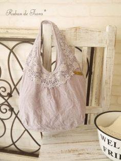 Ruban de Tiara Flower lace linen * BAG