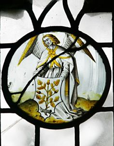 flemish stained glass angel angels - Google Search
