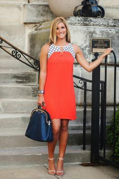dress: stitch fix // heels: windsor // purse: local boutique[photo credit: house of harkless] I'm not sure about your workplace, but at mine we have that three dreaded word thing, commonly referred t