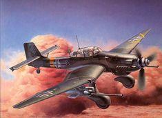 German Dive Bomber: Junkers Ju-87 Stuka by Shigeo Koike