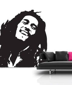 Shoply.com - Bob Marley Wall Sticker . Only £24.99