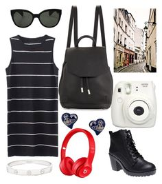 231. by haleenahussain on Polyvore featuring Wet Seal, rag & bone, Cartier and Oliver Peoples
