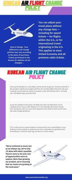 As per the standard airline policy, the flight time, date, the destination can be changed up to 24 hours of the departure. For the passenger planning to change their reservation within 24 hours of the departure, they need to check out the same-day ticket changes guidelines. Airline Reservations, Korean Air, Air Tickets, Trip Planning, Dating, The Unit, How To Apply, Change, How To Plan