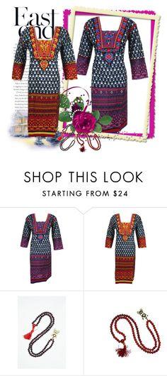 Bohemian Women's Long Kurti Dress by baydeals on Polyvore featuring Kundalini, tunic, Womens, kurti and longkurti   http://stores.ebay.com/mogulgallery/DESIGNER-KURTI-/_i.html?_fsub=665889019&_sid=3781319&_trksid=p4634.c0.m322
