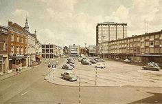 Markt Kerkrade in het verleden