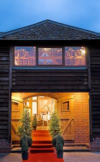 Tithe Barn Petersfield HampshireEngland As A Wedding Venue