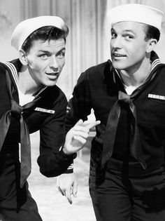 Frank Sinatra and Gene Kelly in Anchors Aweigh (1945)
