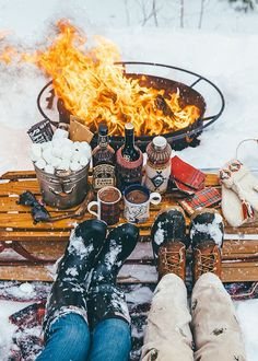Hosting a Winter Bonfire Party