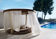 This photo about: Fascinating Patio Daybed Ideas, entitled as Patio Daybed Canopy - also describes and labeled as: Modern Outdoor Daybed,Patio By Jamie Durie Daybed Bench,Patio Daybed Home, with resolution x Daybed Canopy, Patio Daybed, Canopy Curtains, Diy Canopy, Canopy Tent, Bed Deck, Fabric Canopy, Canopy Lights, Small Canopy