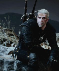 "Geralt of Rivia from ""Heart of Stone"", ""The Witcher"""