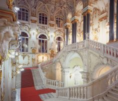 Pavlovsk Palace staircase in  St Petersburg, Russia