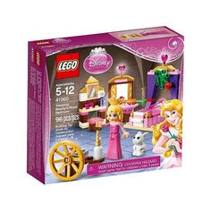LEGO Disney Princess Sleeping Beauty's Royal Bedroom 41060 (245 MXN) ❤ liked on Polyvore featuring toys