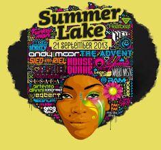 Awesome line-up poster for Summerlake Outdoor Festival 2013 #summerlake