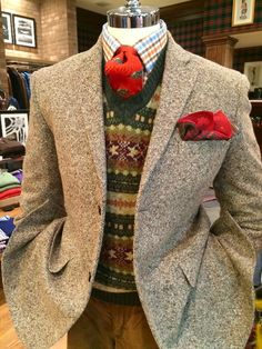 Caledonophilia: A Tribute To Scotland's Contributions To The Ivy League Look - Ivy Style Tweed Run, Tweed Jacket, Ivy Style, Mode Style, Suit Fashion, Mens Fashion, Country Attire, Country Style Clothes, Ivy League Style