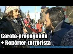 Repórter-terrorista entrevista garota-propaganda anti-Assad
