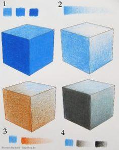 Árnyékolás színek összemosásával