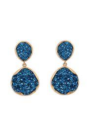 Coralia Leets. Sapphire Druzy Earrings