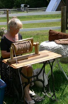 Build Your Own Indian Head Spinning Wheel - Downloadable Plans