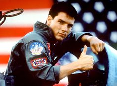 Top Gun.  Tom Cruise was awesome.....ya know........before!