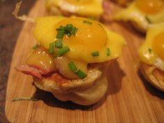 How to make Eggs Benedict Canapes - Stop Motion Cookery