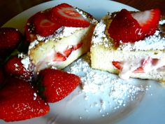 Strawberry Stuffed French Toast-very good :)