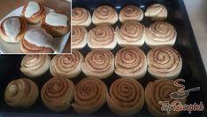 Extra gyors sajtos-fokhagymás kenyérlepény. Akár kenyér helyett! | TopReceptek.hu Recipies, Food And Drink, Pudding, Sweets, Snacks, Chips, Cake, Mascarpone Creme, Fitness
