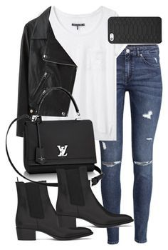 """Untitled #5087"" by natalie-123s ❤ liked on Polyvore featuring H&M, rag…"