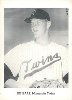 1962 Jay Publishing Minnesota Twins #NNO Jim Kaat Front