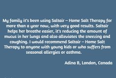 Salt Therapy for Asthma & Chronic Bronchitis - Halosense - Salt Therapy at Home Nasal Congestion, Breathe Easy, Asthma, The Cure, Therapy, Congested Nose, Counseling