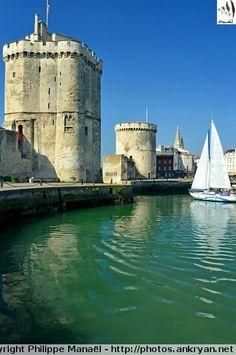Tours de Saint-Nicolas et de la Chaîne, La Rochelle (Charente-Maritime)
